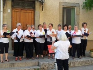 "Chorale ""Si on chantait"""