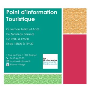 Point Info Tourisme Bizanet